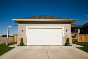 Vinyl Garage Door installation