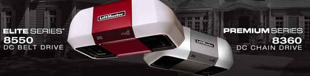 Liftmaster 8550 Garage Door Opener and Battery Backup System with Gateway Installation