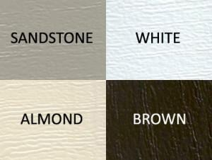 Available Steel Garage Door Colors