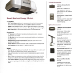 LiftMaster Premiere 1/2 HP 8355 Belt Drive Garage Door Opener with the latest MyQ technology.