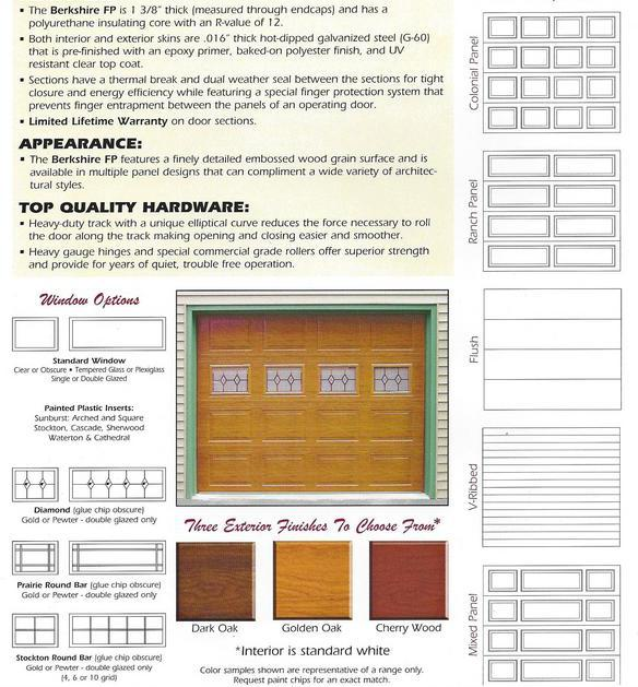 Insulated Steel Garage Door