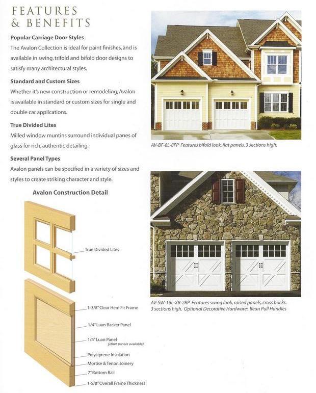 Popular Carriage House Garage Door Styles